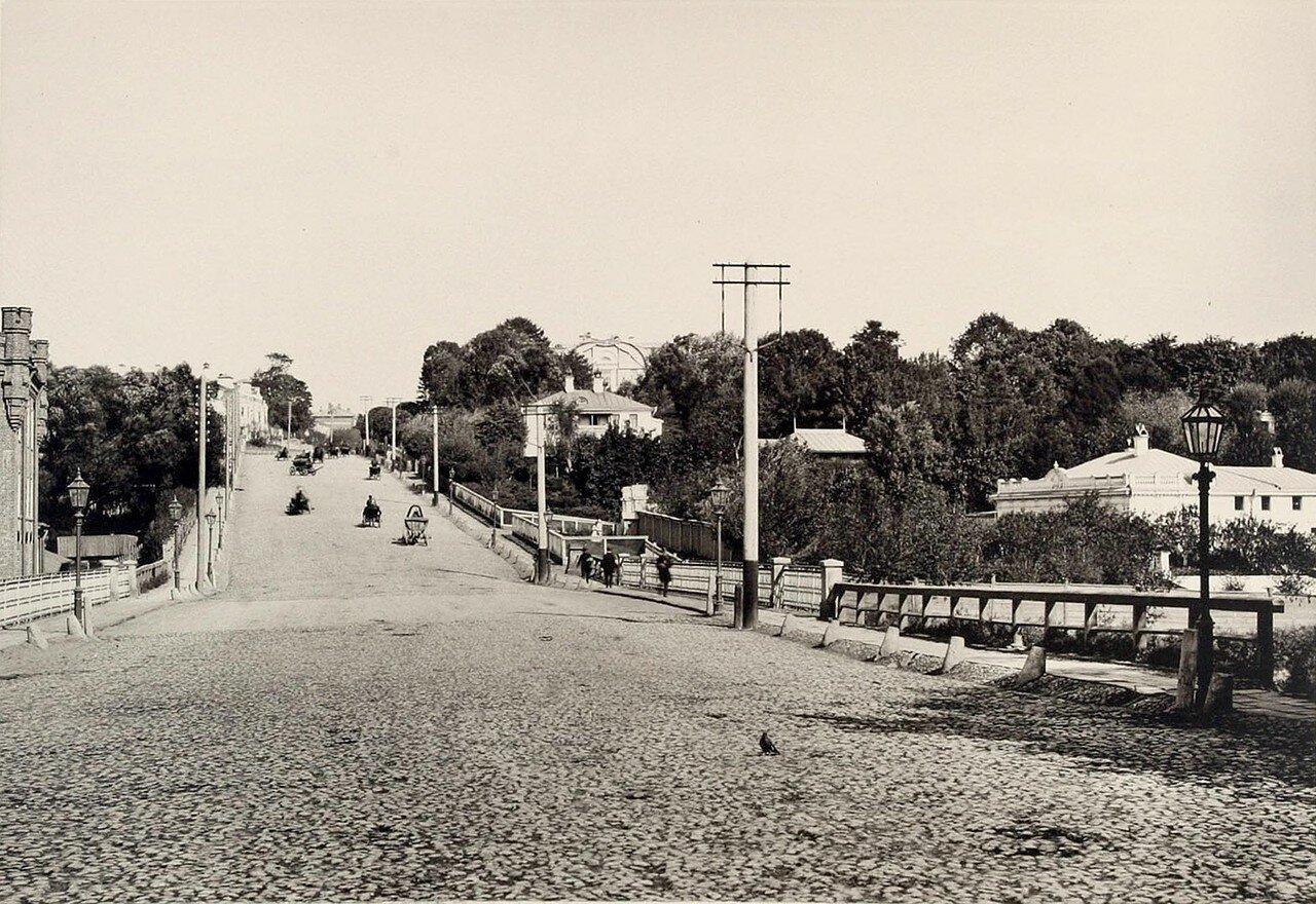 354. Вид с Высокояузского моста (на север)