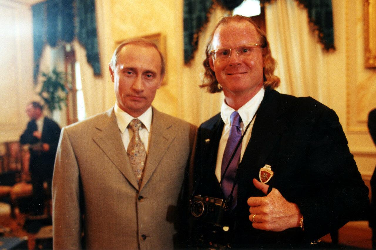 2000. Москва. С Путиным в Кремле