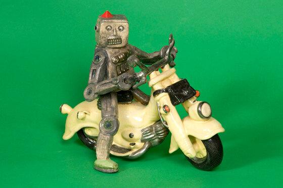 Robot Motorcycle