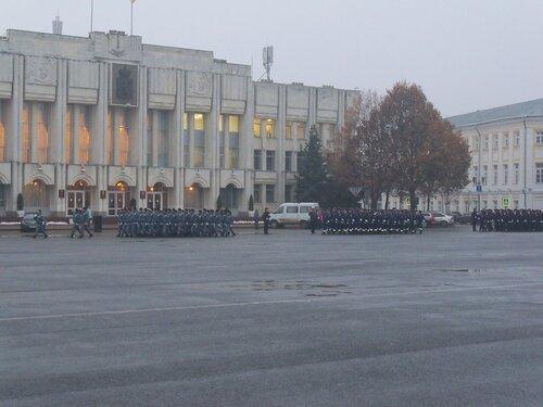 Ярославль. Репетиция ко Дню милиции
