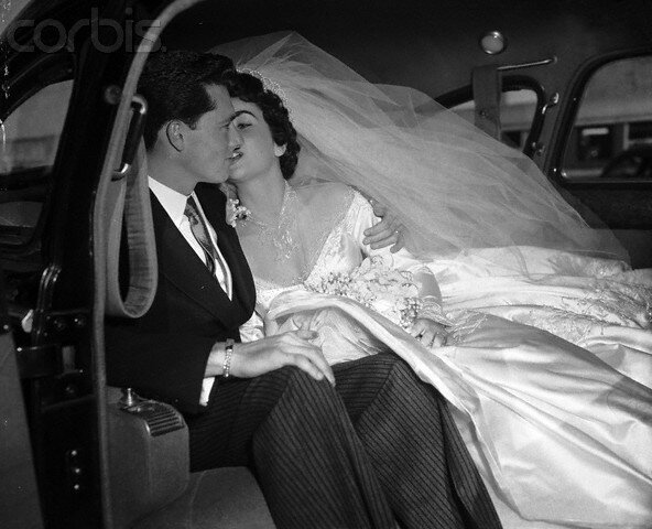 Wedding of Elizabeth Taylor and Conrad Hilton Jr.