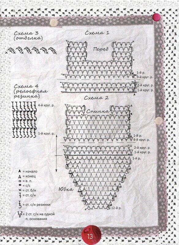 Вязание для собак. Комбинезоны, схемы и описания вязания 85