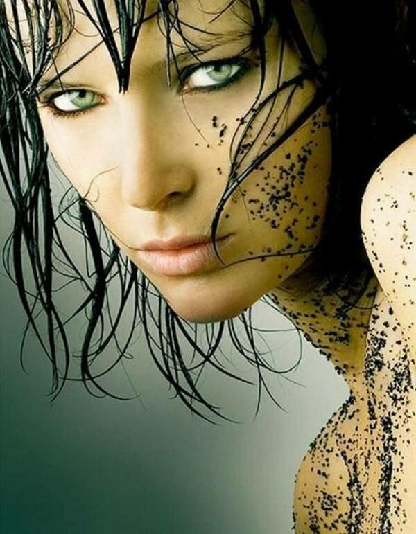 Красивые глаза девушек