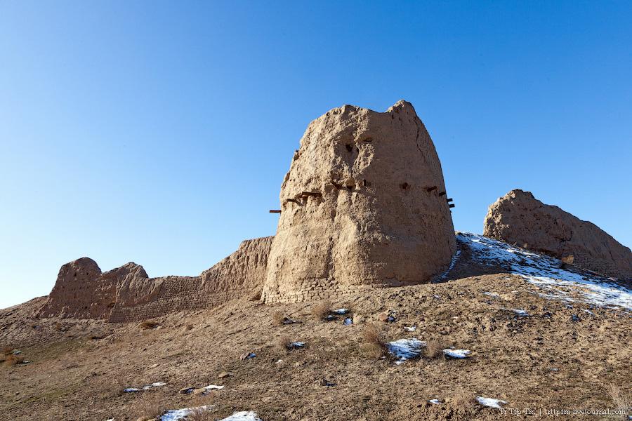 17. Пустыни юго-западного Казахстана.