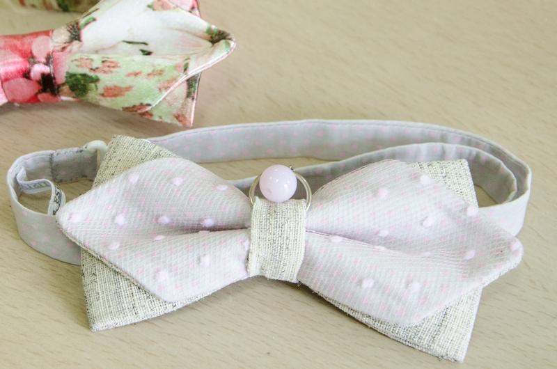 галстук бабочка с декором
