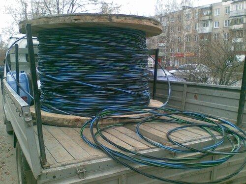 Барабан с кабелем