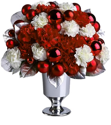 Bouquet Fleurs Noel