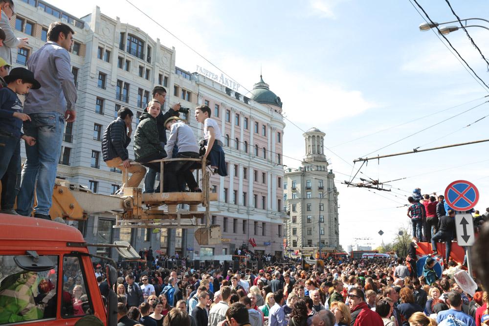 День Победы в Москве: как это было (39 фото)