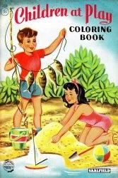 Книга Coloring Book Children At Play