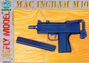 Журнал Журнал Пистолет-пулемет Mac Ingram М10 (Fly Model №149 )