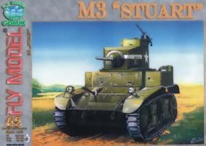 Журнал Журнал Легкий танк M3 «Stuart» (Fly Model №65 )
