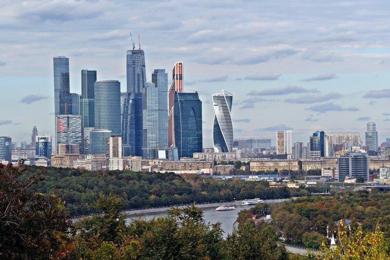 Москва. Воробьевы горы.