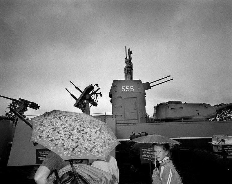 Киев. Памятник Второй мировой. 1989 год.