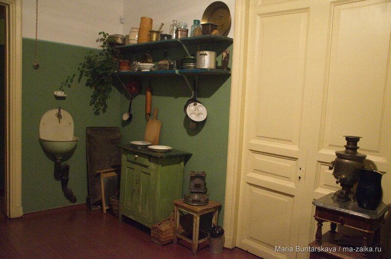 В фонтанном доме, Санкт-Петербург, музей Анны Ахматовой, 16 декабря 2015 года