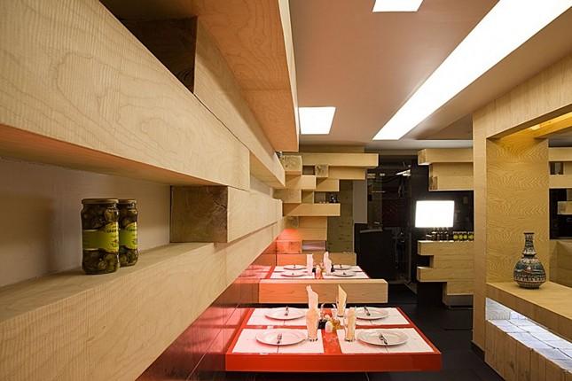 Обновленный интерьер ресторана Ator в Тегеране