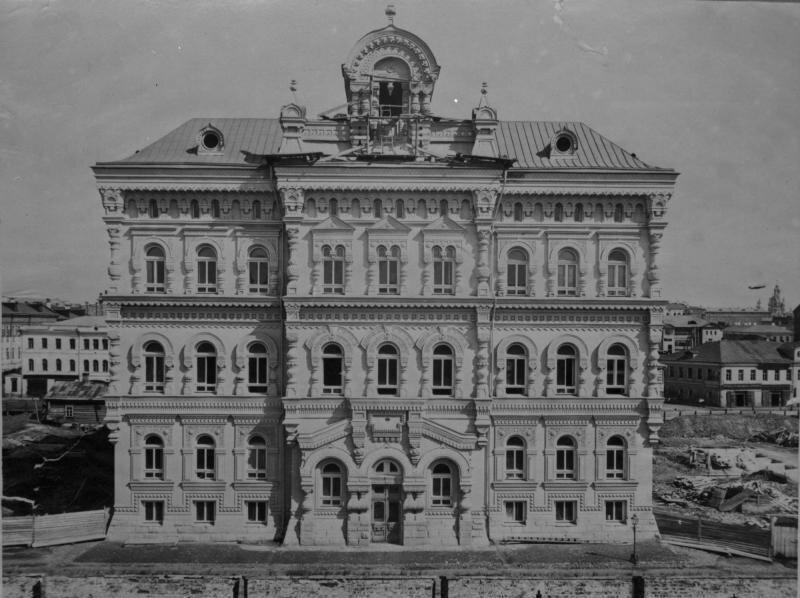 Строительство Политехнического музея. 1881