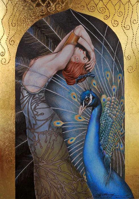 Дай крылья мне чтоб я смогла взлететь! Art by Gabriel Meiring
