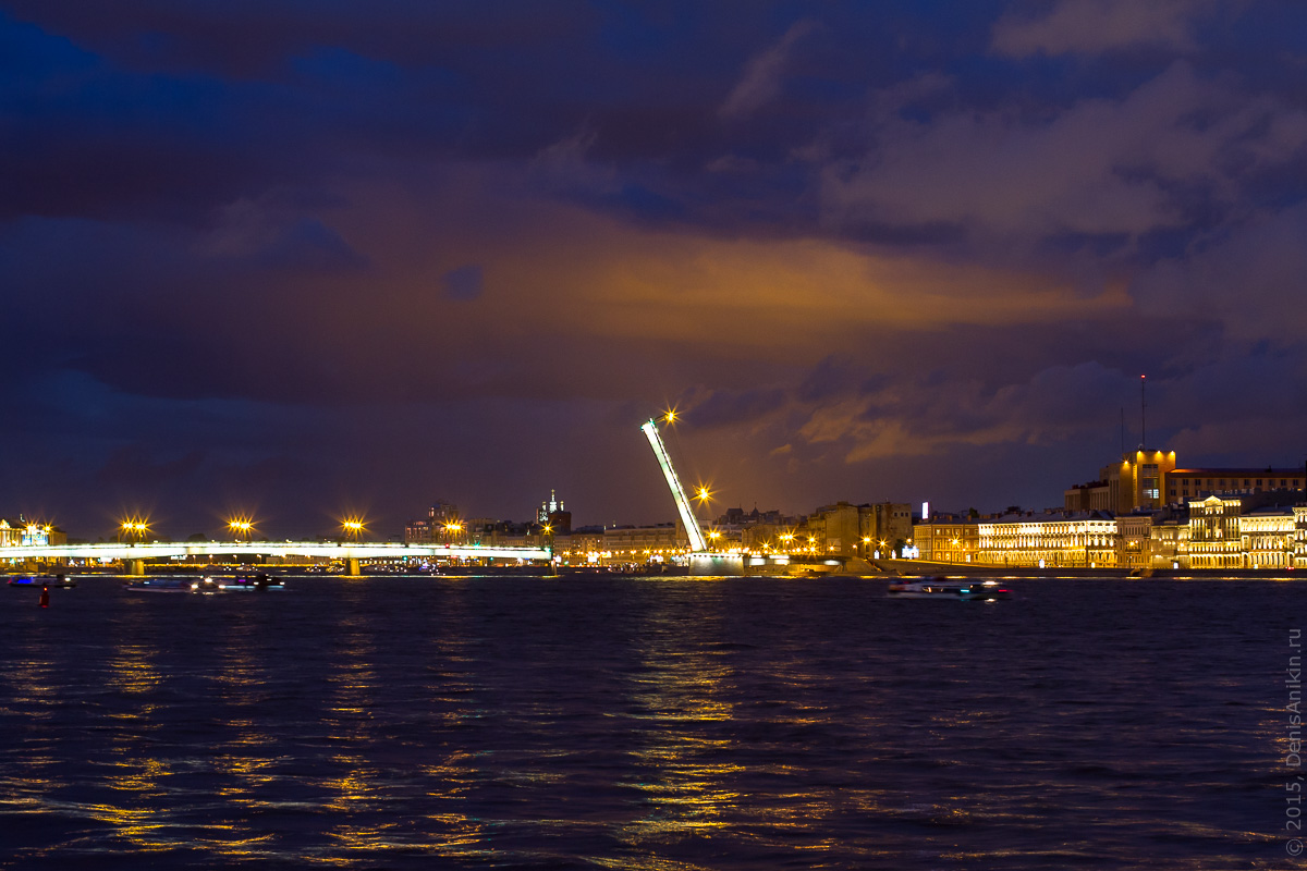 Санкт-Петербург развод мостов 8