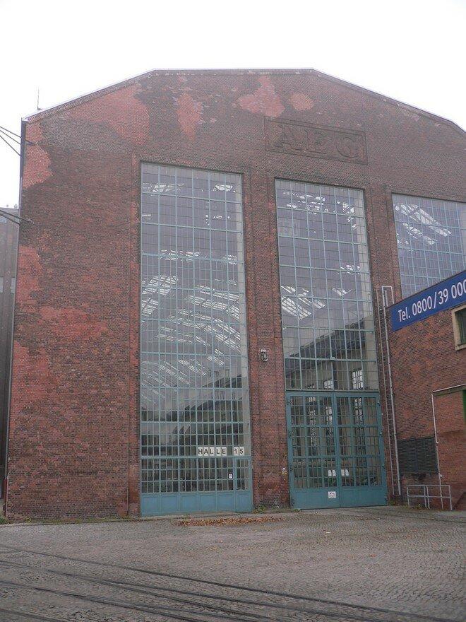 Фабрика AEG в Берлине