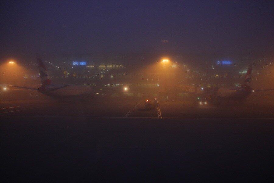 Туман в Лондоне