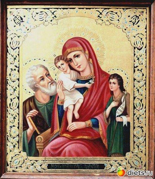 """Святые молитвы, иконы, Покровители! Икона Божией Матери """"Три Радости"""""""