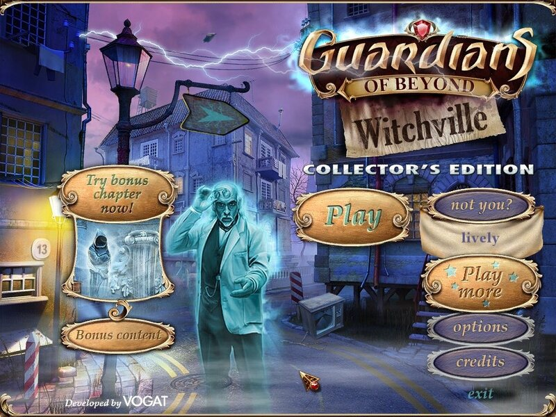Guardians of Beyond: Witchville Collector's Edition (Hidden Object Game from Big Fish)