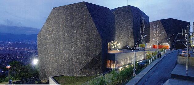Biblioteca Parque Espana. Колумбия