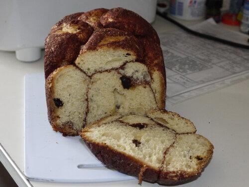 Сладкий Арабский хлеб (хлебопечка)