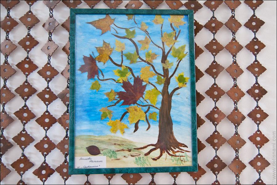 Поделки осень фото из арбуза