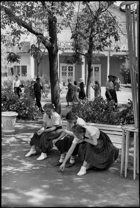1954. Москва. Парк Горького