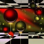 рождественские фоны и орнамент (9)