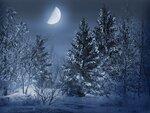 зимние фоны