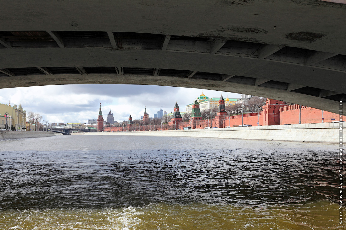 открытие навигации на Москве-реке