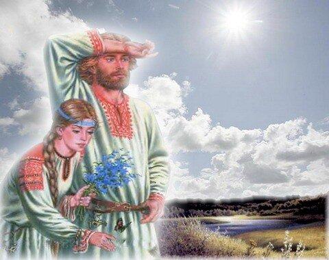 Русские муж и жена ваша