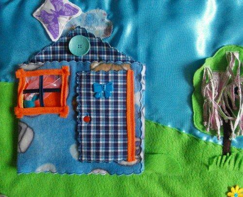 Развивающий коврик для детей Безумные гастроли! Волшебный домик музыкантов!