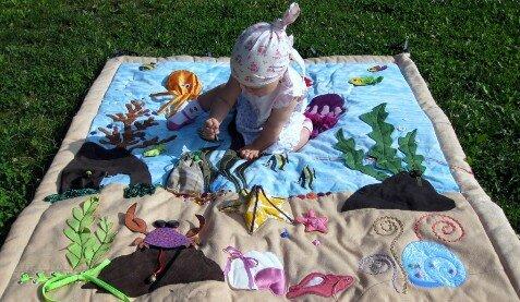 Долгоиграющий развивающий коврик... для Сонечки!