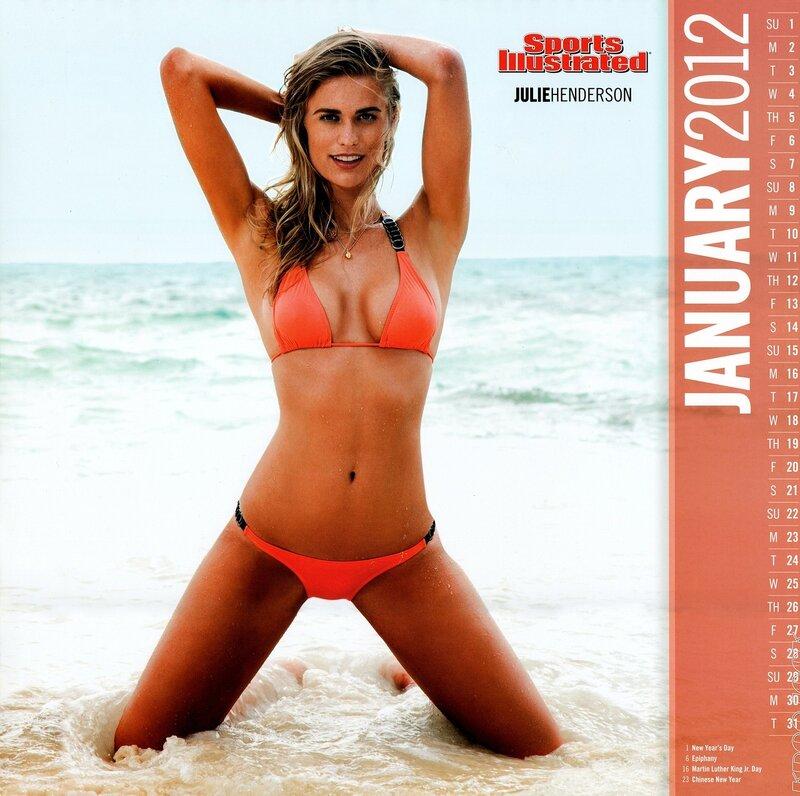 Sports Illustrated Swimsuit Edition 2012 calendar - Julie Henderson / Джули Хендерсон - кликабельно, 9 мегапикселей