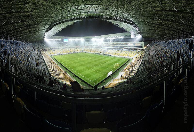 Панорама стадіону з північно-східного кута.