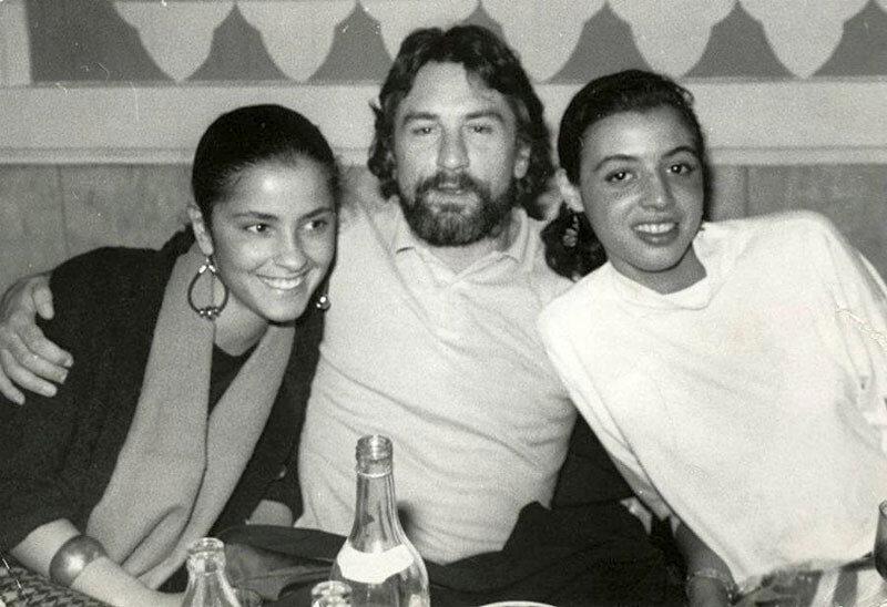 Ия Парулава, Роберт Де Ниро и его приемная дочь Дрена, Тбилиси, 1987.jpg