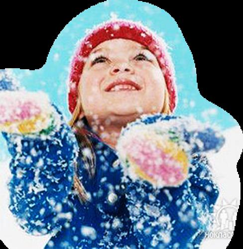 Картинки с анимацией дети зимой