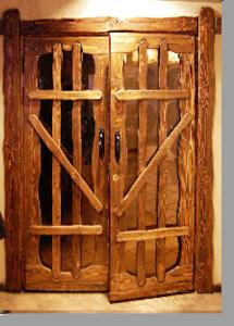 Дверь из сосны своими руками