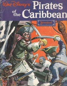 "Книга ""Pirates of the Caribbean"", Уолт Дисней."