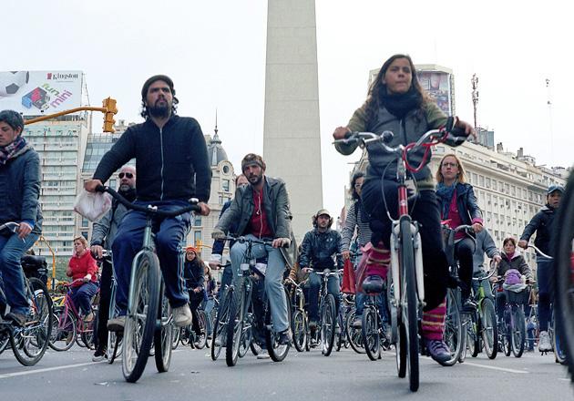 В Буэнос-Айресе можно бесплатно прокатиться на велосипеде
