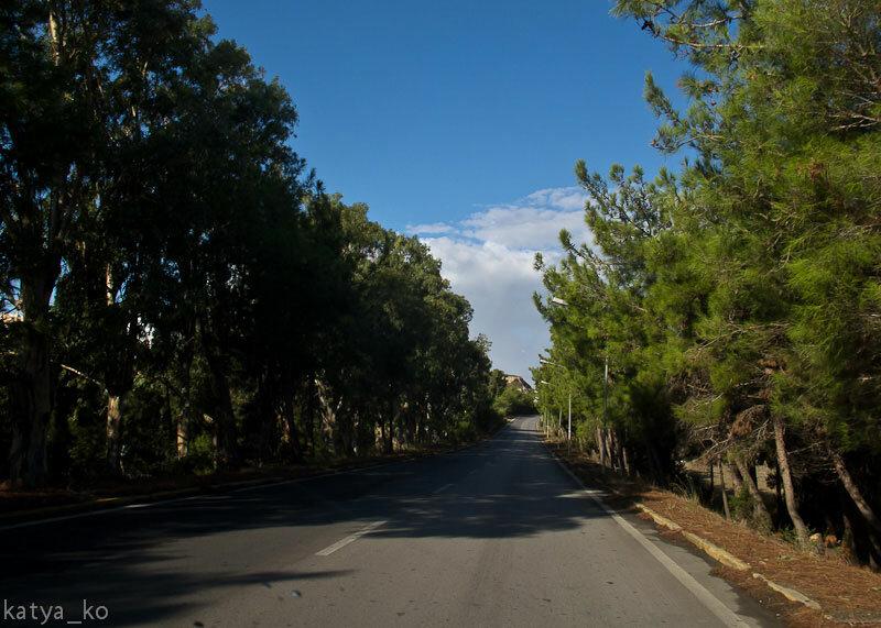 Дорога на Косе