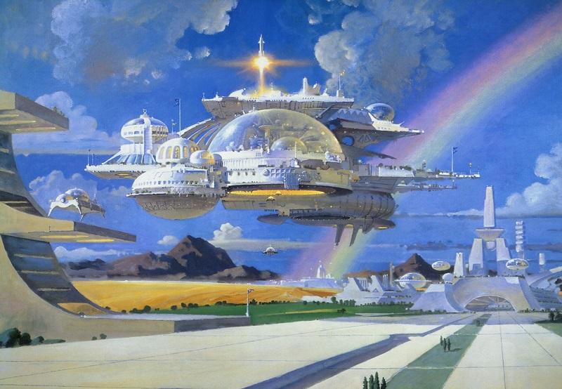 Фантастические города: Мир будущего в картинках