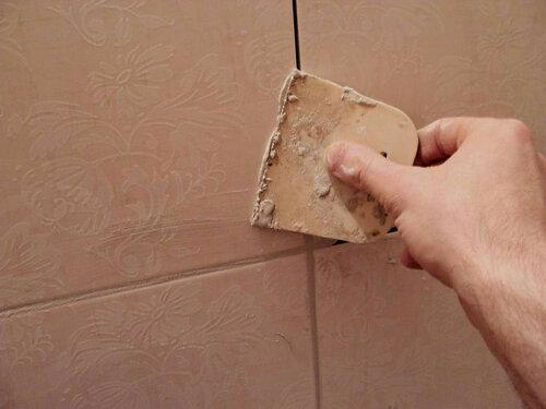 Затирка керамической плитки