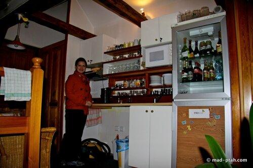 гостиница, кухня