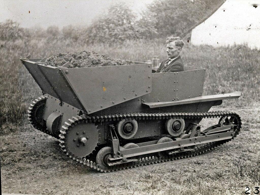 Machine Gun Carrier 1929 Commercial Hopper