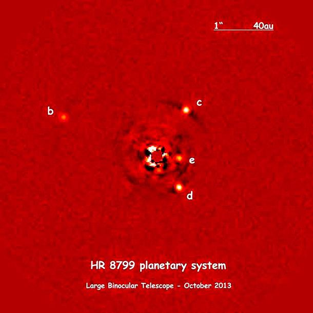 солнечная система в созвездии Пегаса