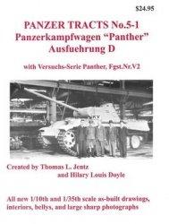 """Книга Panzerkampfwagen """"Panther"""" Ausfuehrung D (Panzer Tracts No.5-1)"""